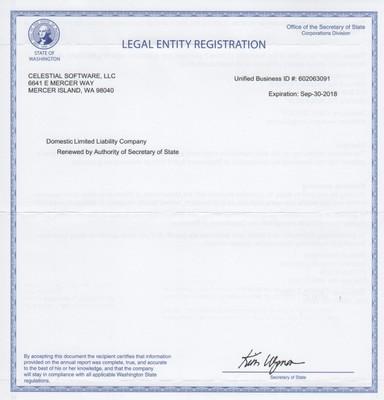 Washington State DOR Registration